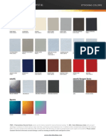 Alucobond Color Chart