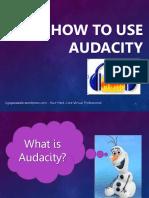 Ligaya_Malay_How to Use Audacity