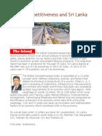 Global Competitiveness and Sri Lanka
