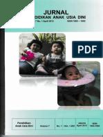 Jurnal Pendidikan Anak Usia Dini