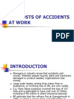 The Costs of Accidents at Works