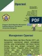 Strategi Operasi