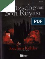Joachim Köhler _ Nietzsche'Nin Son Rüyası