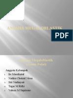 Anemia Megaloblastik (Asam Folat)