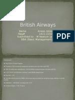Presentation on British Airways