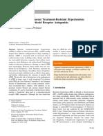 Terapia en Hipertension Aparentemente Resistente 2015