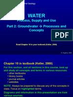EG7b Groundwater