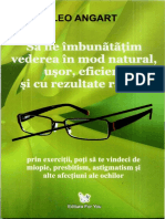Leo Angart - Să Ne Îmbunătățim Vederea În Mod Natural, Ușor, Eficient Și Cu Rezultate Rapide