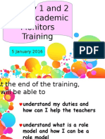 p1 and p2 class and academic monitor training updated 271215