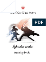 Swordfight Manual Lightsaber