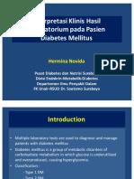 2. Interpretasi Klinis Hasil Laboratorium Pada Pasien