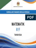 Dokumen Standard Matematik SJKC Tahun 2