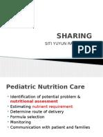 Sharing Nutrition Status