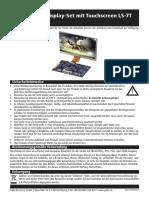 Touchscreen LS-7T D120964B