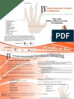 Programa IV Jornadas Publicidad Social - URJC