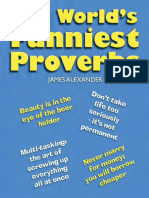 Worlds Funniest Proverbs