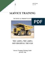 OHT - 785C and 789C - SERV1706 - Student Handout - Oct 05