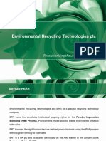 Environmental Recycling Technologies Pls