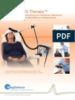 Depression Brochure Doctor German