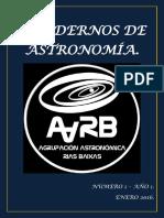 Cuadernos de Astronomía AARB Nº- 1.