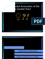 Gyne - Congenital Anomalies