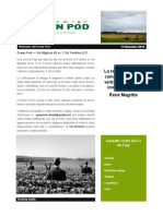 GreenPod Notiziario 13 Dic 2015