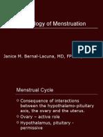 Gyne - Physiology of Menstruation