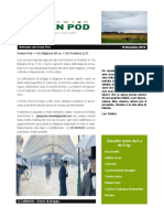 GreenPod Notiziario 19 Dic 2015