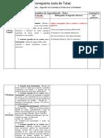 tabela (cronograma)
