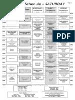 Gcc5 Schedule