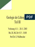 Lithosphaere III