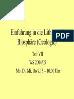 Lithosphaere VII