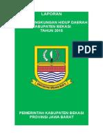 Cover Akhir SLHD Kab Bekasi 2015