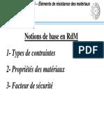 Notion de Base RDM