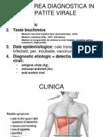 LP 8,9 - Diagnosticul in Infectie Cu Virusuri Hepatitice