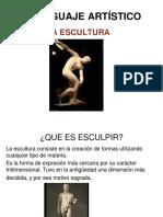 El Lenguaje Artistico La Escultura (1)