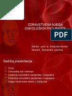 Zdravstvena Njega Onkoloških Pacijenata