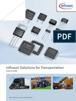 Infineon Solutions for Transportation 24V 60V ABR v00 00 En