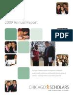 Chicago Scholars Annual Report 2009