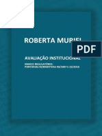 Avaliacao Institucional Marco Regulatorio Portarias Normativas 40 2007 e 23 2010