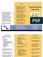 Hancock County Teen Court Brochure