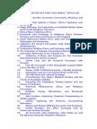 nhd project sample topics list
