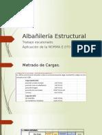 Albañilería Estructural
