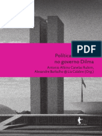 Politicas Culturais Governo Dilma Rousseff