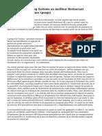 Paiement Processing Systems au meilleur Restaurant Management Software (posqx)