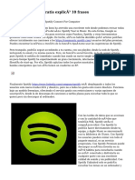 Spotify Premium Gratis explicó 10 frases