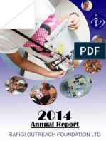 2014 Annual Report - SAFIGI Outreach Foundation