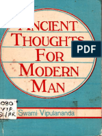 Ancient Thoughts for Modern Man