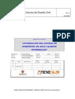 2.1.- Criterios de Diseño Civil