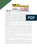 20 Errores en CCTV